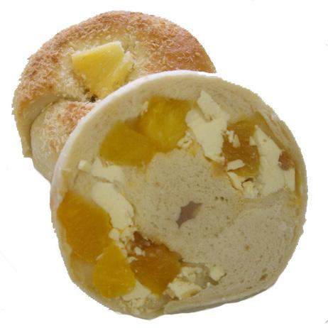 ★季節限定のアイスベーグル★ココナッツパイン&キャラメルチョコ&クリームチーズ