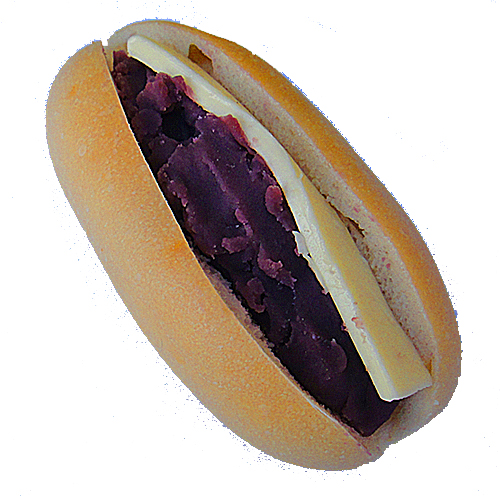 ☆季節限定☆紫芋&バターのデザートベーグルサンド